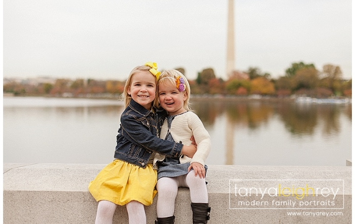 Northern Virginia Family Photographer – Jefferson Memorial Family Photography Session