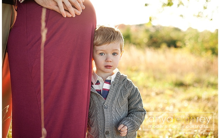 Northern Virginia Family Photographer – Family Maternity Session